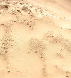 Sandy-Oberfläche als Hintergrund Lizenzfreie Stockfotos