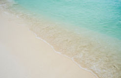 Sandy ocean beach Royalty Free Stock Images