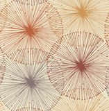 Sandy and orange radial elements Stock Images