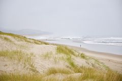 Sandy Oregon-kust Stock Afbeeldingen