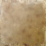 Sandy Parchment Linen Scroll -Grungy background Royalty Free Stock Photo