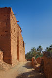 Sandy path along a Morrocan country house Royalty Free Stock Images