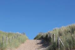 Sandy path Royalty Free Stock Image