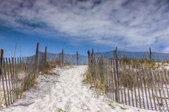 Sandy Pathways to the Clouds royalty free stock photo