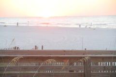 sandy plażowy white Zdjęcia Royalty Free