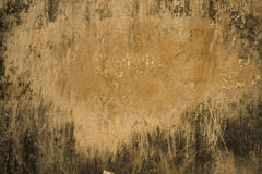Sandy plaster with grunge black frame Stock Image