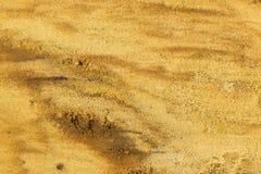 Sandy powierzchnia Zdjęcia Royalty Free