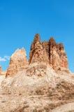 Sandy pyramids Stock Image
