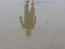 Sandy Reflections Royaltyfri Foto