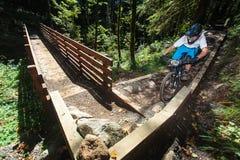 Sandy Ridge Enduro Mountain Bike Race Royalty Free Stock Photography