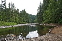 Sandy River Image stock