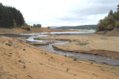 SANDY RIVER Royalty Free Stock Photography