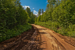 Sandy road Royalty Free Stock Images