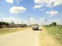 Sandy Road Imagen de archivo libre de regalías
