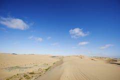 Sandy Road Fotos de archivo libres de regalías