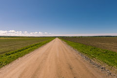 Sandy road Stock Photography