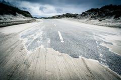 Sandy road Royalty Free Stock Photo