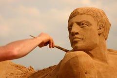 Sandy sculpture Stock Photo