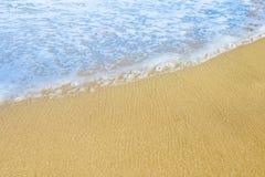Sandy sea beach Royalty Free Stock Photography