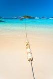 Sandy shore, float, sea Stock Photography