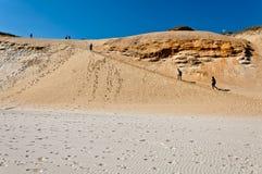 sandy slope Stock Image