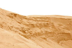 Sandy slope Royalty Free Stock Photos