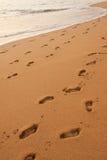Sandy-Strand Stockfoto