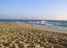 Sandy-Strand Lizenzfreie Stockfotos