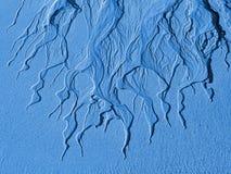 Sandy-Struktur bei Ebbe das Meer Stockfotos