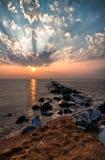 Sandy Sunrise Royalty Free Stock Images