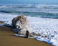 Sandy Surf fotografia de stock royalty free