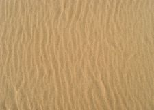 Sandy surface Stock Image