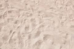 Sandy surface on sunny day as background. Top view royalty free stock photography
