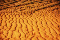 Sandy texture Stock Photos