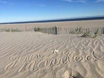 Sandy toes солёные поцелуи Стоковая Фотография RF