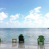 Sandy Toes San Pedro, Ambergris Caye Belize Stock Images