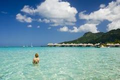Sandy-tropischer Strand 8 Stockfotos