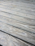 Sandy Wooden Decking Texture Stock Image