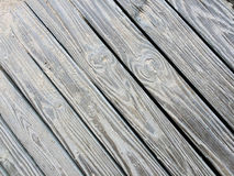 Sandy Wooden Decking Texture Royalty Free Stock Images