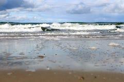 Sandy wybrzeże Fotografia Royalty Free