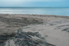 Sandy wzór Fotografia Royalty Free