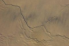 Sandy y ondulaciones Fotos de archivo libres de regalías