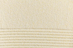 Sandy yellow decorative background Stock Images