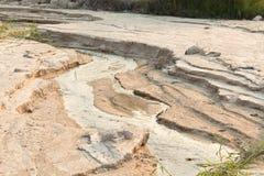 Sandy ziemia Zdjęcie Royalty Free
