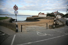 Sandycove harbour. Royalty Free Stock Photo