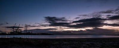 Sandymount Strand Sunrise. Sunrise on Sandymount Strand, Dublin, Ireland Royalty Free Stock Images