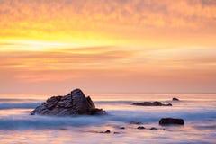Sandymouth Cornwall Anglia Zdjęcia Stock