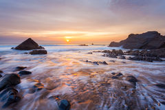 Sandymouth Cornwall England Stock Photos