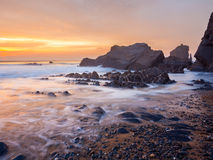 Sandymouth Cornwall England Royalty Free Stock Image