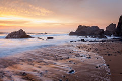 Sandymouth Cornwall England Royalty Free Stock Photos